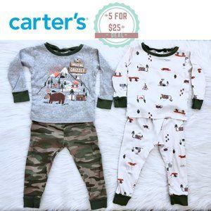 * CARTER'S baby boy pajama bundle size 24 months